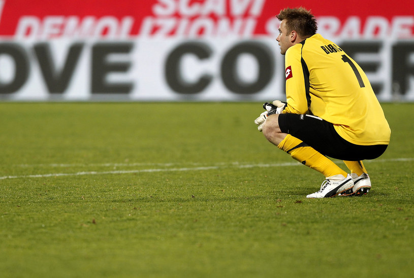 Artur Boruc jeszcze w barwach Fiorentiny /AFP