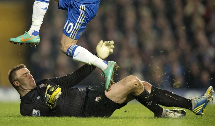 Artur Boruc w barwach Southampton /AFP