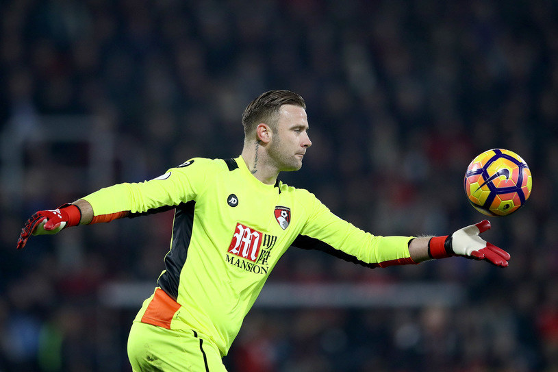 Artur Boruc w bramce Bournemouth AFC /Julian Finney /Getty Images