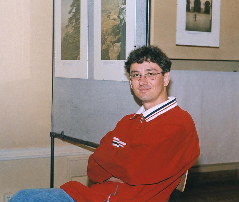 Artur Orzech w 1998 roku /AKPA