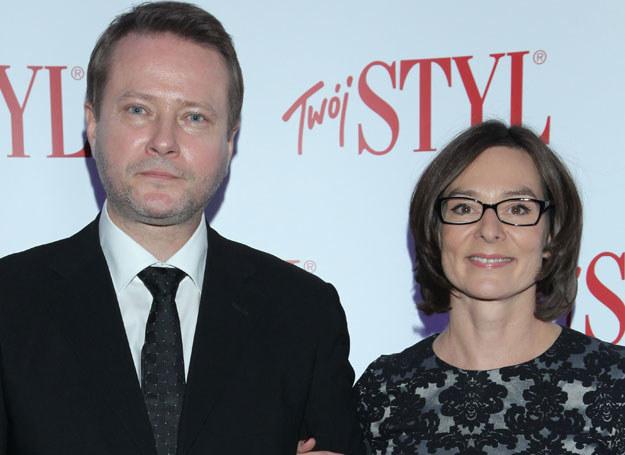 Artur Żmijewski z żoną Pauliną /MWMedia