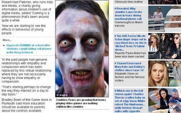 Artykuł w Daily Mail /CDA