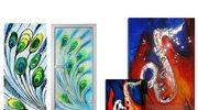 Artysta urządza wnętrze - szklane dzieła sztuki