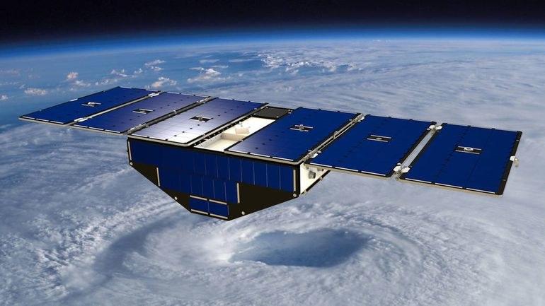 Artystyczna wizja jednego z mikrosatelitów CYGNSS /NASA