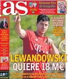 """""""As"""": Lewandowski w Realu dostałby 18 mln euro rocznie!"""