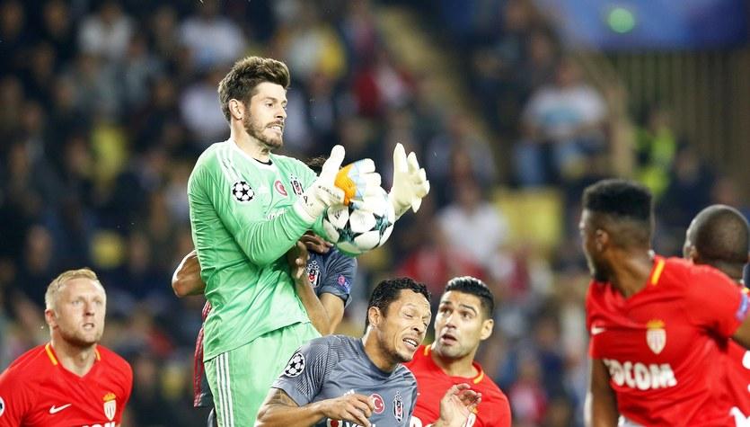 AS Monaco - Besiktas Stambuł 1-2 w Lidze Mistrzów