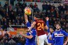 AS Roma - Sampdoria 2-1. Szczęsny uratował trzy punkty
