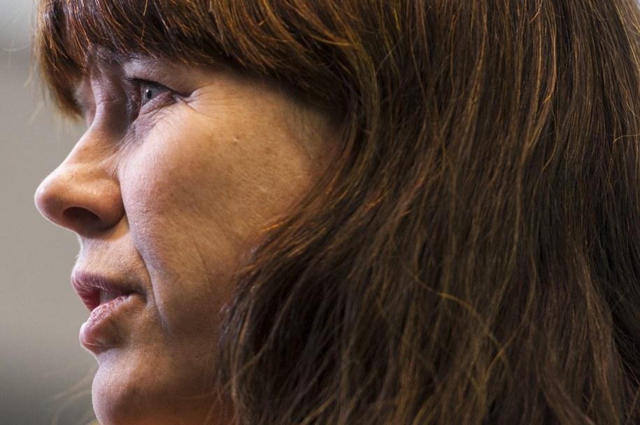 Åsa Romson jest ministrem ochrony środowiska oraz wicepremier szwedzkiego rządu / NICOLAS BOUVY    /PAP/EPA