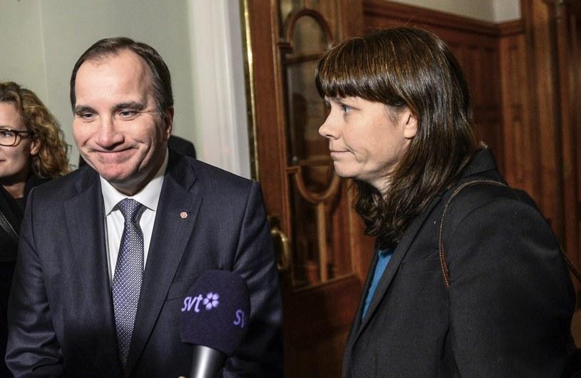 Åsa Romson zaliczyła wpadkę /AFP