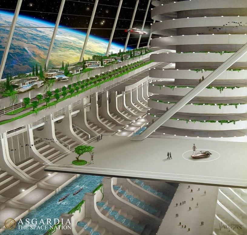 Asgardia chce być pierwszym kosmicznym państwem uznanym przez ONZ /materiały prasowe