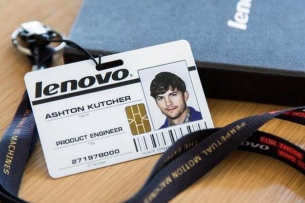 Ashton Kutcher nowym inżynierem produktowym Lenovo (Fot. Twitter Lenovo) /materiały prasowe