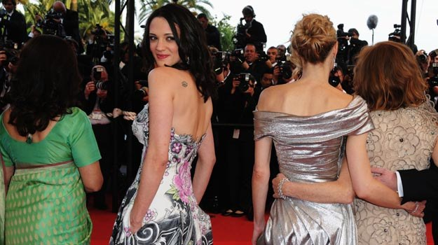 Asia Argento podczas ubiegłorocznej ceremonii otwarcia festiwalu w Cannes - fot. P. Le Segretain /Getty Images/Flash Press Media