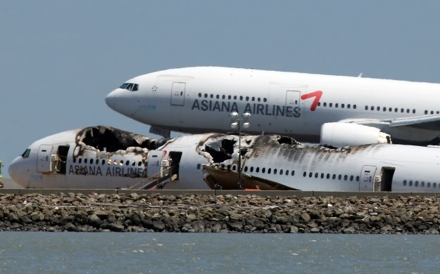 Asiana Airlines 214 /AFP
