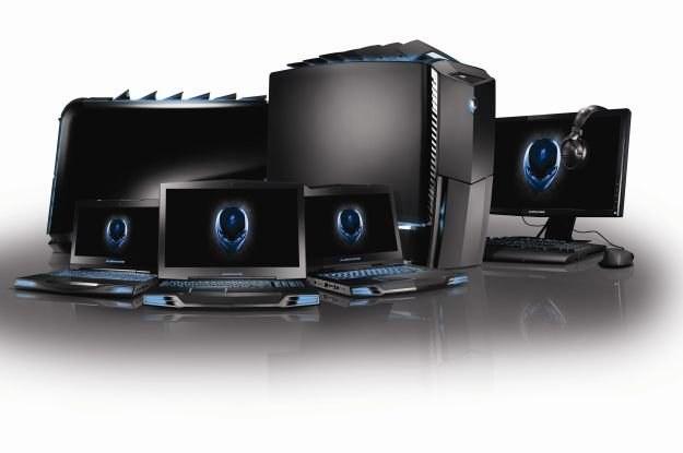 Asortyment komputerów Alienware, które dokonają inwazji na Polskę /materiały prasowe