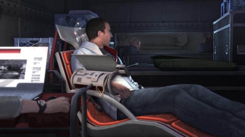 Assassin's Creed i Animus, czyli wirtualny świat, do którego wchodzą bohaterowie gry /materiały prasowe