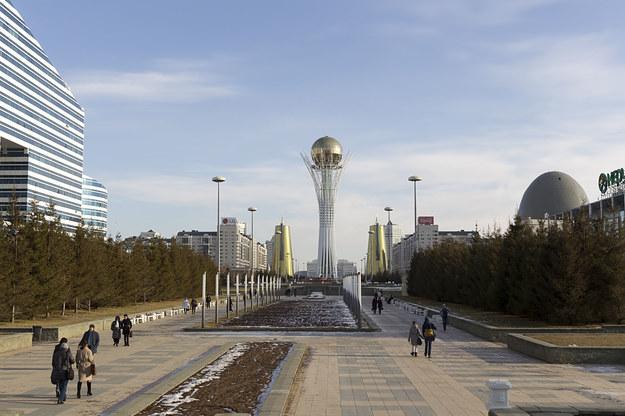 Astana - stolica Kazachstanu /123/RF PICSEL