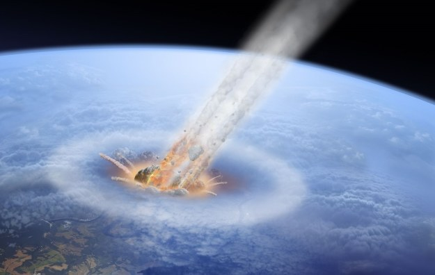 Asteroida była tylko jednym z dwóch przyczyn masowego wymierania /©123RF/PICSEL