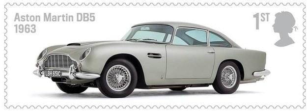 Aston Martin DB5 (1963) /Royal Mail