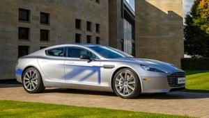 Aston Martin RapidE - na prąd
