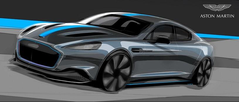 Aston Martin RapidE /INTERIA.PL/informacje prasowe