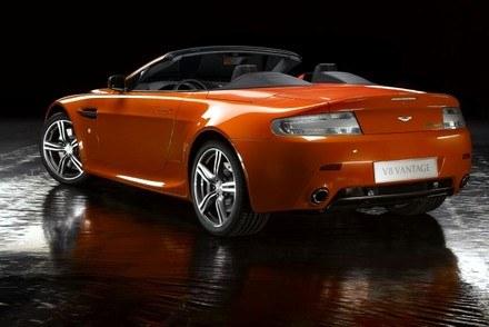 Aston martin V8 vantage roadster N400 / Kliknij /INTERIA.PL