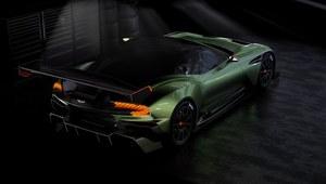 Aston Martin Vulcan – 800-konny potwór na tor