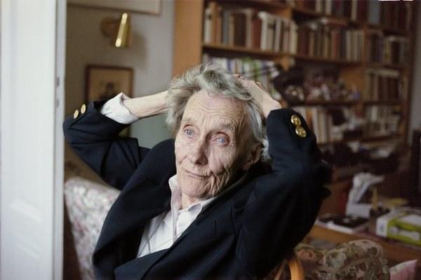 Astrid Lindgren - zdjęcie wykonane w 1977 roku /AFP