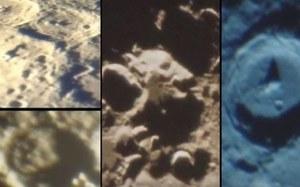 Astronom amator wypatrzył na Księżycu dziwne struktury
