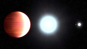 Astronomowie odkryli piekielną planetę, na której pada śnieg
