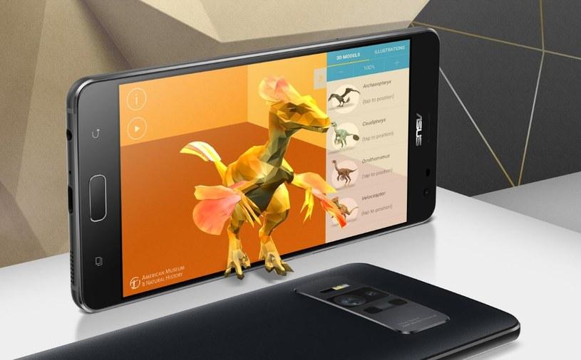 Asus Zenfone AR wspiera Google Tango /materiały prasowe