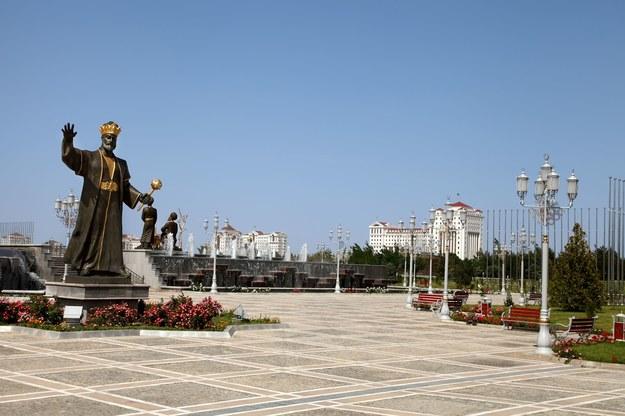 Aszchabad - stolica Turkmenistanu /123/RF PICSEL