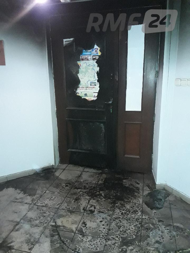 Atak na biuro Beaty Kempy /Gorąca Linia RMF FM