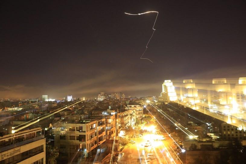Atak na Damaszek /Associated Press /East News