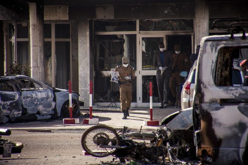 Atak na hotel w Burkina Faso /WOUTER ELSEN /PAP/EPA