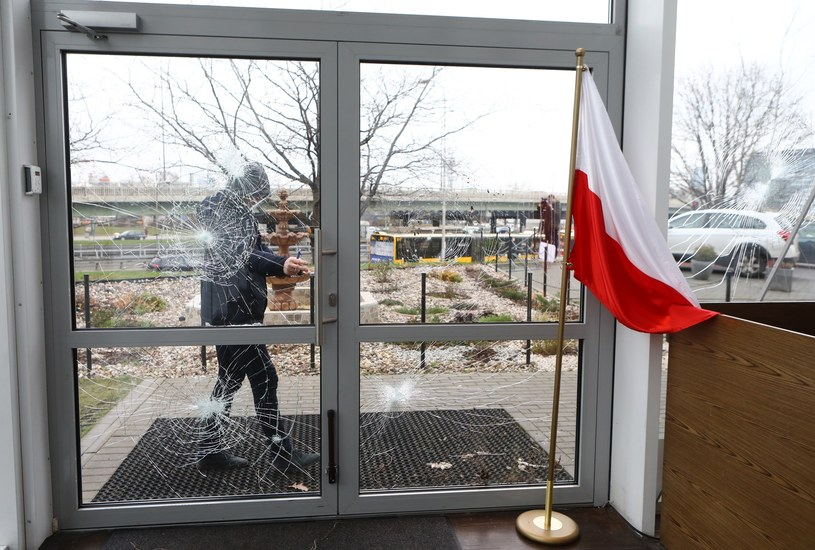 Atak na warszawski ośrodek muzułmański na Ochocie /Stanisław Kowalczuk /East News
