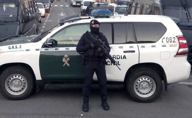 """Atak nożownika na granicy hiszpańsko-marokańskiej. Napastnik krzyczał """"Allah akbar"""""""