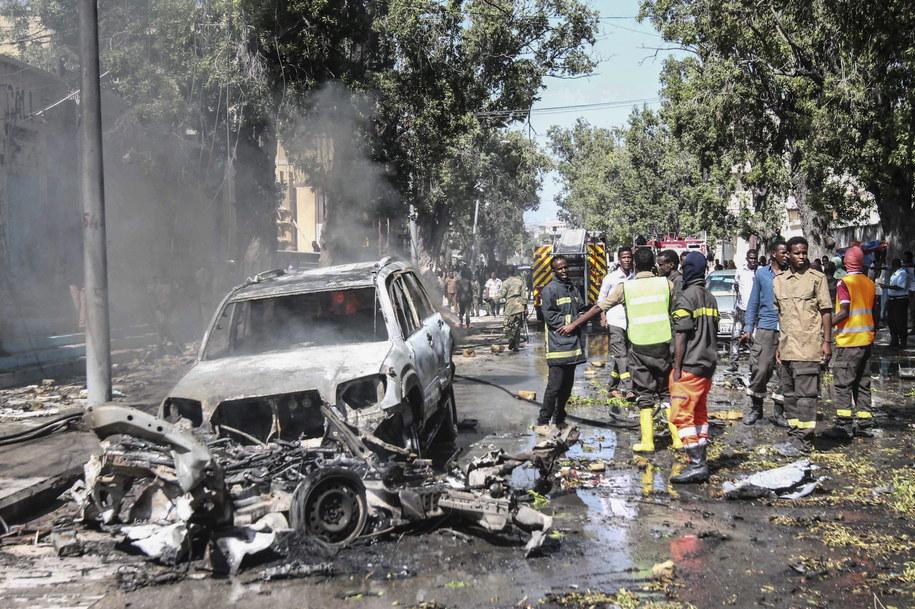 Atak w Mogadiszu /SAID YUSUF WARSAME /PAP/EPA