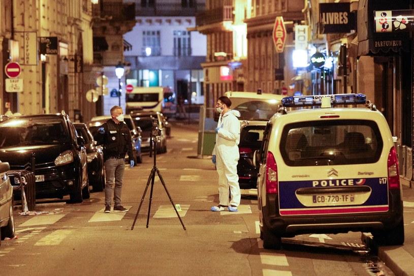 Atak w Paryżu /GEOFFROY VAN DER HASSELT /AFP