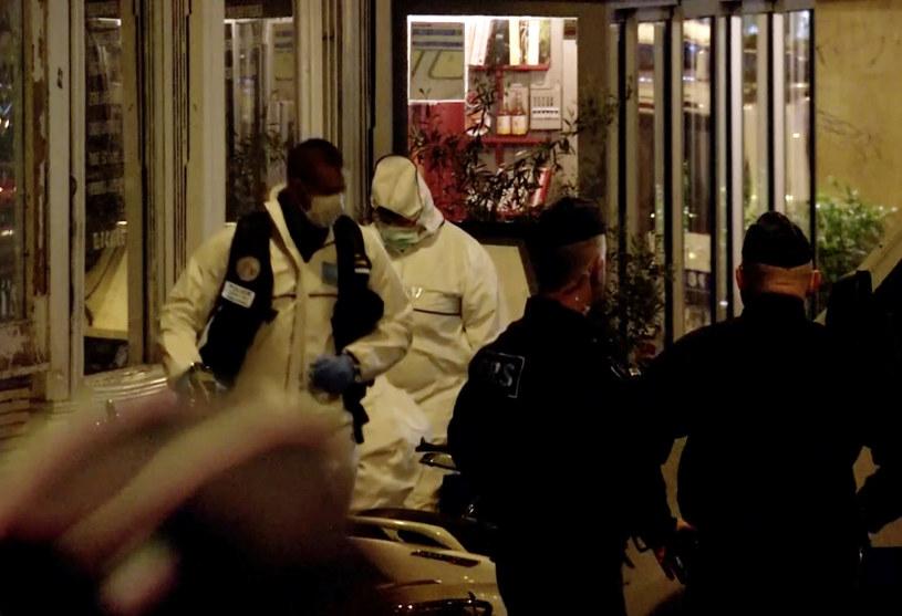 Atak w Paryżu /REUTERS/Reuters TV /Agencja FORUM