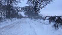 Atak zimy w Wielkiej Brytanii