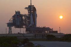 Atlantis podczas przygotowań do misji