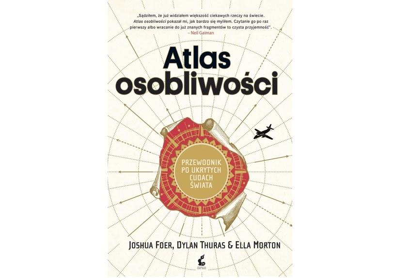 """""""Atlas osobliwości"""", wyd. Sonia Draga /materiały prasowe"""