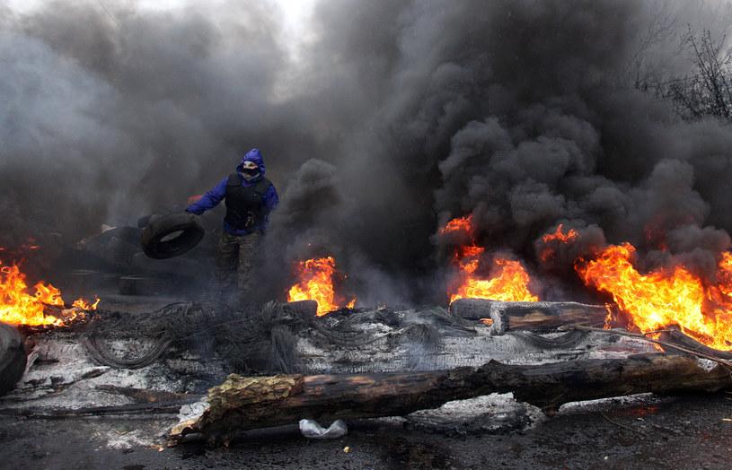 Atmosfera na wschodzie Ukrainy znów jest napięta /AFP