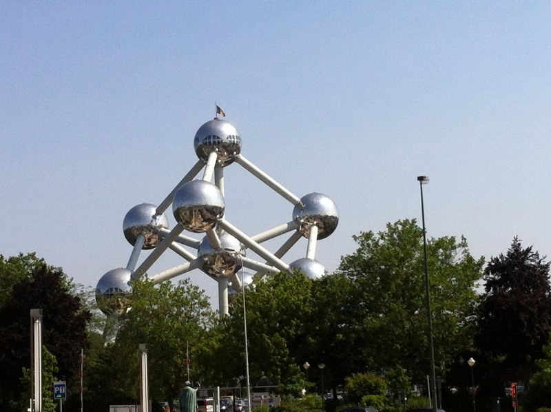Atomium w Brukseli /Katarzyna szymańska- Borginion  /RMF FM