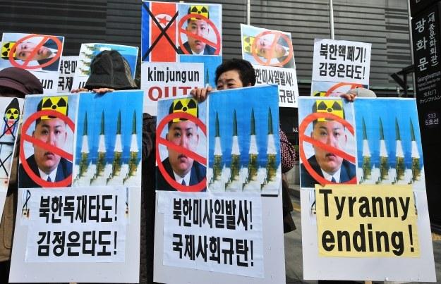 Atomowe ambicje Korei Północnej niepokoją świat /AFP