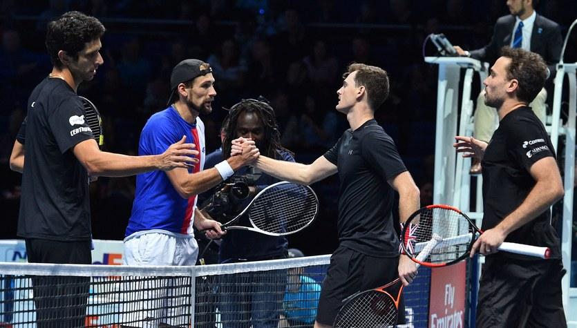 ATP Finals: Kubot i Melo przegrali i awansowali do półfinału z 2. miejsca