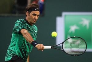 ATP w Indian Wells. Roger Federer w półfinale bez wychodzenia na kort