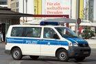 Atrapa bomby pod mostem w Dreźnie