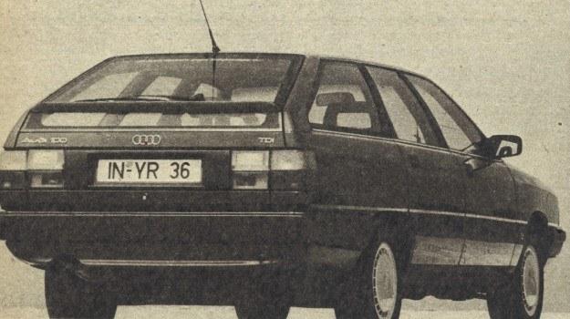 Audi 100 TDI (1989) /Motor