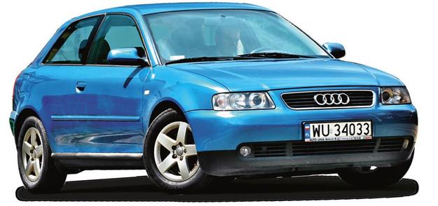 AUDI A3 I (1996-2003), polecane wersje: 1.9 TDI, 1.8 T. /Motor